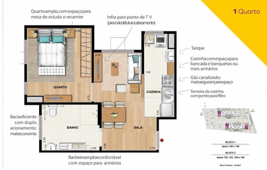 Apartamento em SÃO CRISTÓVÃO  -  Rio de Janeiro - RJ